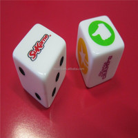 dice printing, dice 20 sides