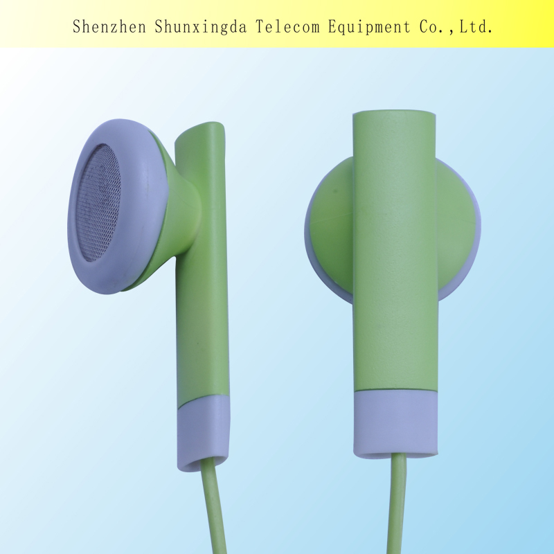 SXD In-Ear Style and Wired Communication coloful funny style earbud