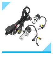 Universial Auto HID Xenon H4 Headlight Bulb Wiring Harness Controller 35W 6000K