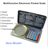 Multifunction digital price computing scale with white backlight pricing scale