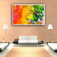 Modern beautiful wall art canvas abstract painting wholesale for home decoration