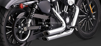 Stainless Steel Chrome Finish Exhaust System exhaust Pipe for Harley 883 1200