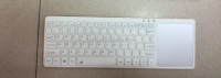 DIHAO Newest Ultra Slim Aluminum Wireless Bluetooth Keyboard 2 battery
