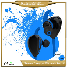 Shenzhen Plastic bluetooth headset stereo wireless brand headset ear hook bluetooth v4.0 stereo headphones