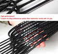 Best quality top grade carbon fiber grap badminton racket design your own badminton racquests wholesale