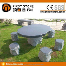 GCF4026 Granite Outdoor Stone Table And Chair