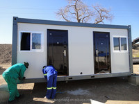 Temporary site camp prefab container house unit