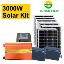 2 days battery backup 3kw solar engineering system project