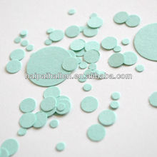 Mint Circle Confetti - Paper Party throwing Confetti