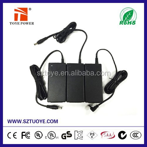 100-240V ac dc universal 12v 5a power supply desktop 12v 5000ma power adapter with CE UL class II