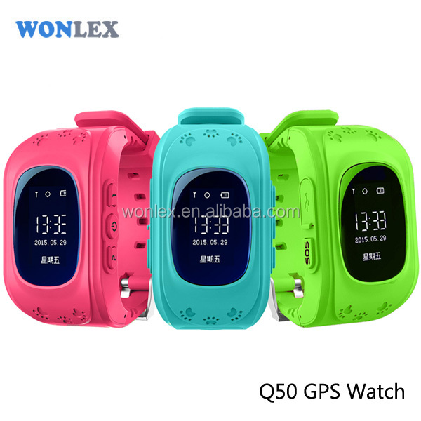 Vicky Wonlex China Best selling kids tracker watch Q50 / LBS GPS Tracking smart watch for IOS