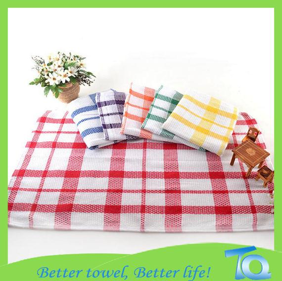Cotton Kitchen Cleaning Wash Cloth/Dish Cloth Towel