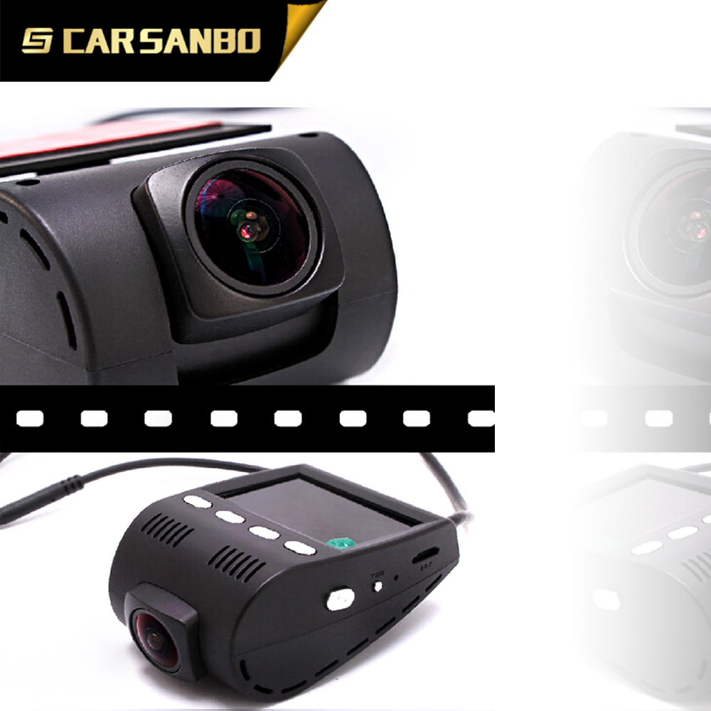 High quality 2.0inch hidden DVR with dual camera (1080P+720P)