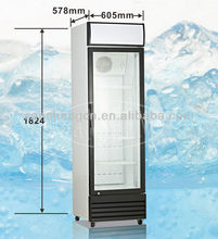 288L Upright showcase Display refrigerator