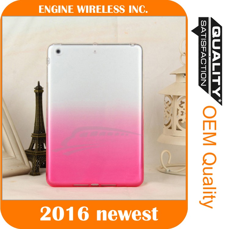 ultra slim tpu colorful case cover for ipad air cover,case for ipad air 2