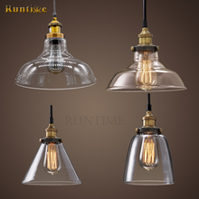 Simple Design Vintage Glass Pendant Light For Chandelier