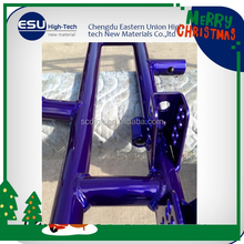 Bentley blue polyester chrome silver powder coating paint