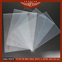 Alibaba Plastic Supplier Transparent 1mm 4x8 PVC Sheet