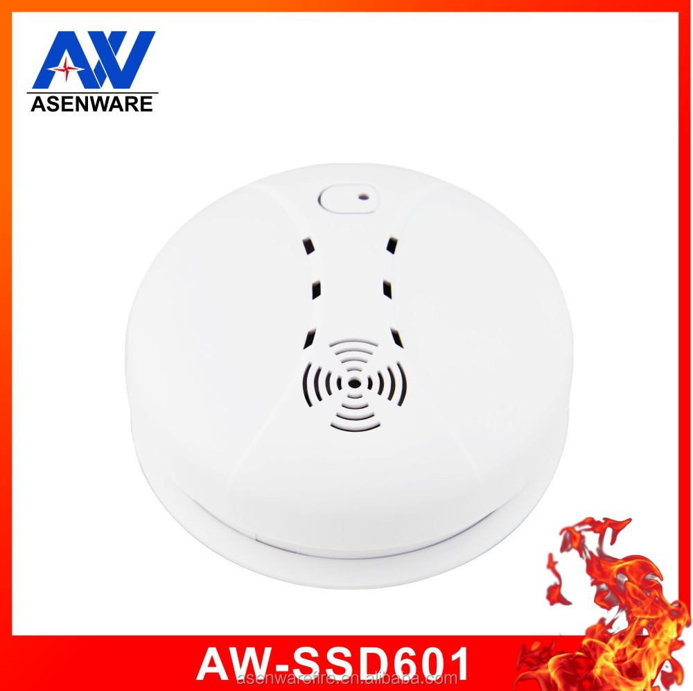 Portable extended battery 9V wireless independent smoke detector