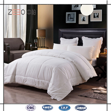 Alibaba Golden Supplier Polyester Microfiber Filling White Quilts / Comforters