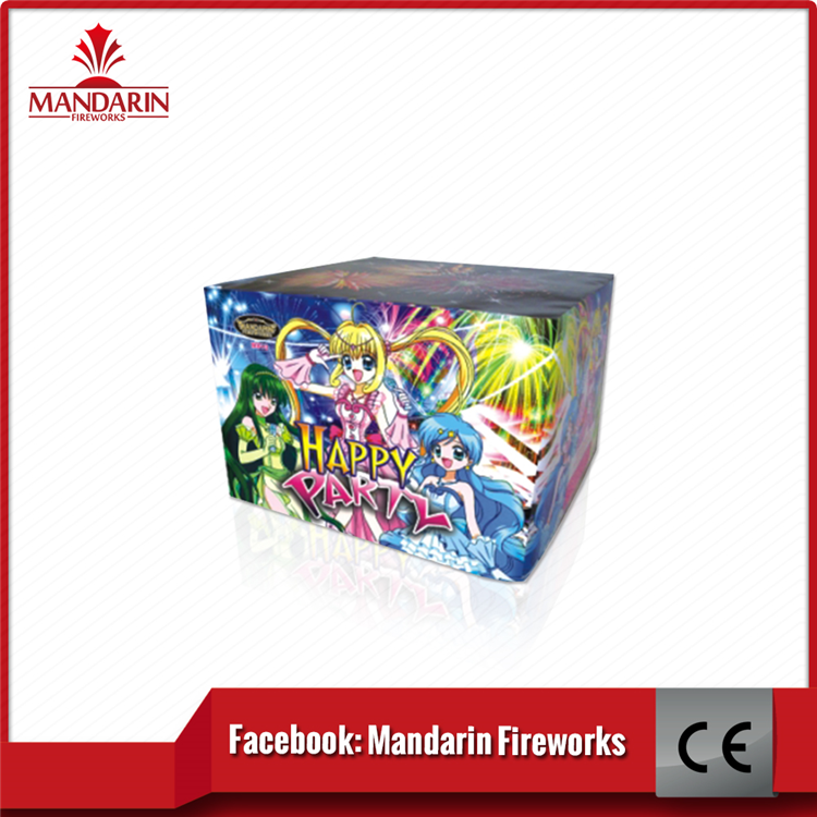 China liuyang suppliers export golden various effect fireworks