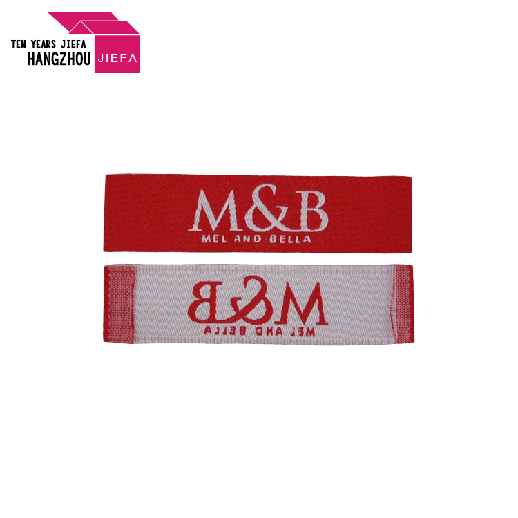 Wholesale Customized High Quality Clothing Woven Label Manufacturer
