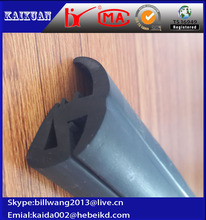epdm extrusion black bus window rubber seal