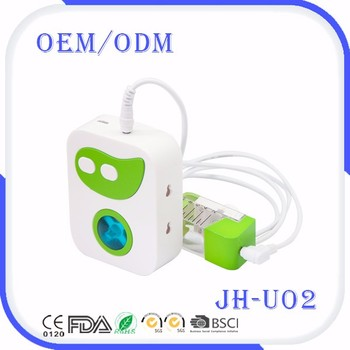 Ultra fine atomizing particles USB portable travel ultrasonic nebulizer