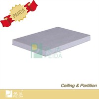 Wood Fiber Reinforced Gypsum Board Used As Partition Board/Water Resistant Board Systems Gypsum