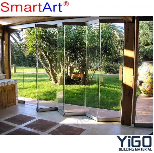 folding panel doors /folding glass walls /acoustic sliding folding partitions