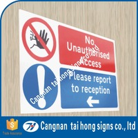 Stickers retro reflective signs board