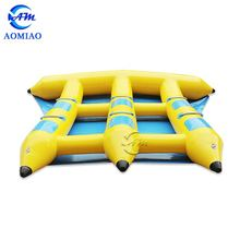 Exciting water games!! high quality inflatable flying fish towable