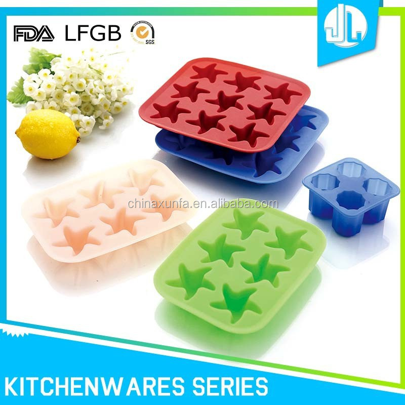 New design popular silicone ice cube tray