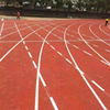 Full PU running track/rubber athletic track/outdoor race track with IAAF Certification
