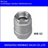 WB 52 API Cast Steel Check