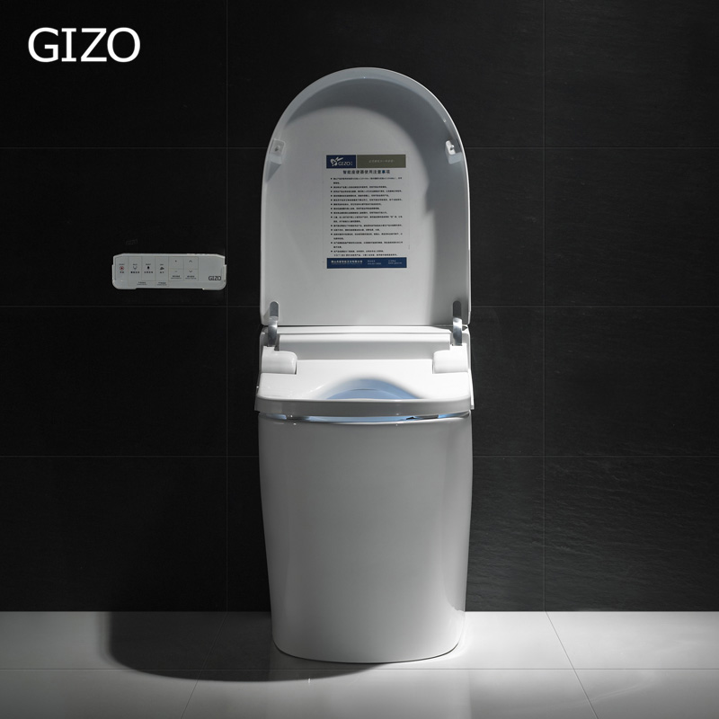 Gizo JJ-1601 electric marine toilet with Elongated toilet seat shape
