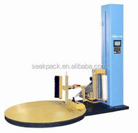 Rotary Turntable Stretch film pallet wrapping machine / vertical