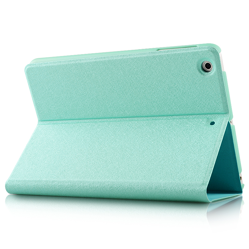 Ultra Thin Magnetic Smart Pure color Origami Style tablet case kids cover for ipad mini123 for ipad mini