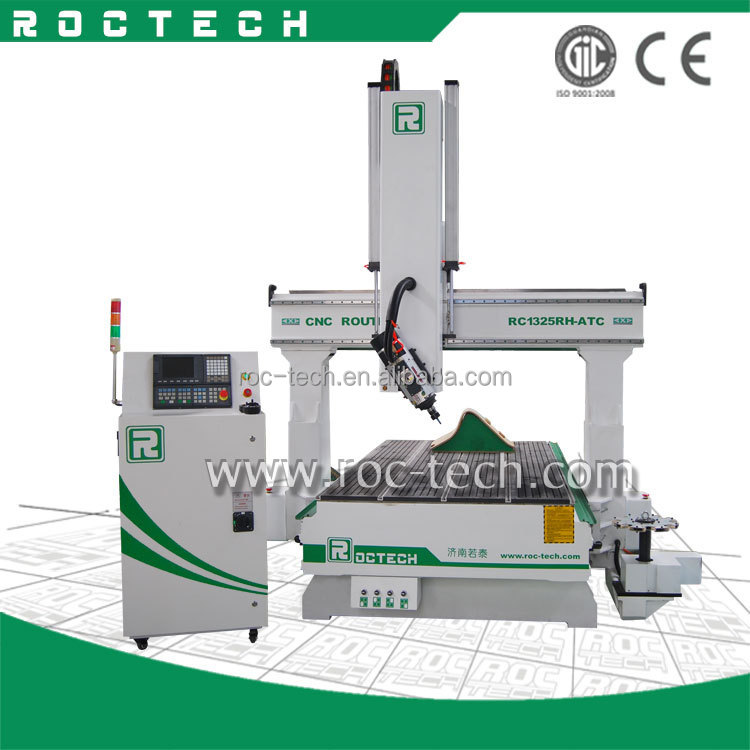 Good sale service cnc router 1325RH-ATC with CE approved good price 1300x2500 cnc router machine for 4D carving