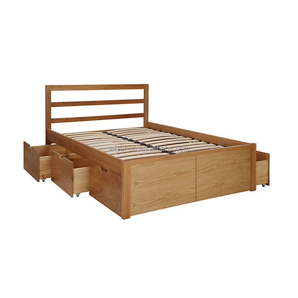 Modern wooden box beds crowdbuild for - Bed desine double bed ...