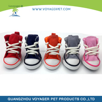 Lovoyager colorful converse fashion dog shoes with good quality