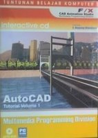 AUTOCAD TUTORIAL VOLUME 1 software