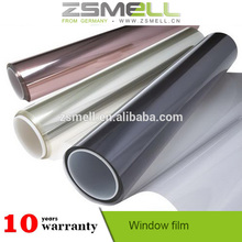 No side effects solar shade window film reflective For Croslinkable Emulsion Polymers