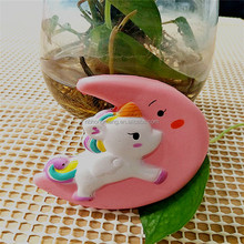 OEM Most Popular slow rising squishy Unicorns on the moon toys
