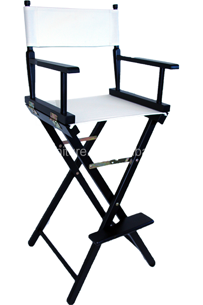 China factory good quality lightweight wooden folding director chair, canvas director chair