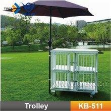 KB-511 Pet products pet stroller for small animals dog show trolley