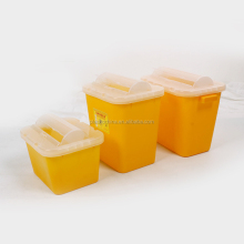 8L new hot sale PP square sharp container plastic medical containers