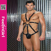 wholesale moneybookers fashion cheap latex rubber catsuit for men