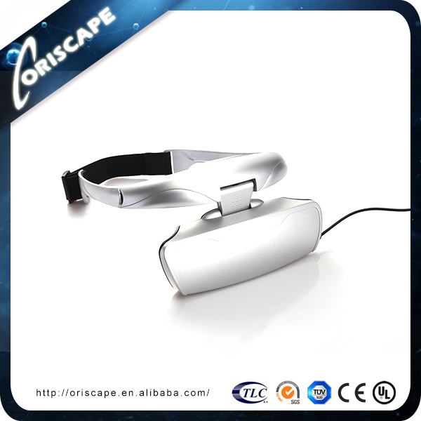 56 inch best visual effect 3D head mounted display video glasses