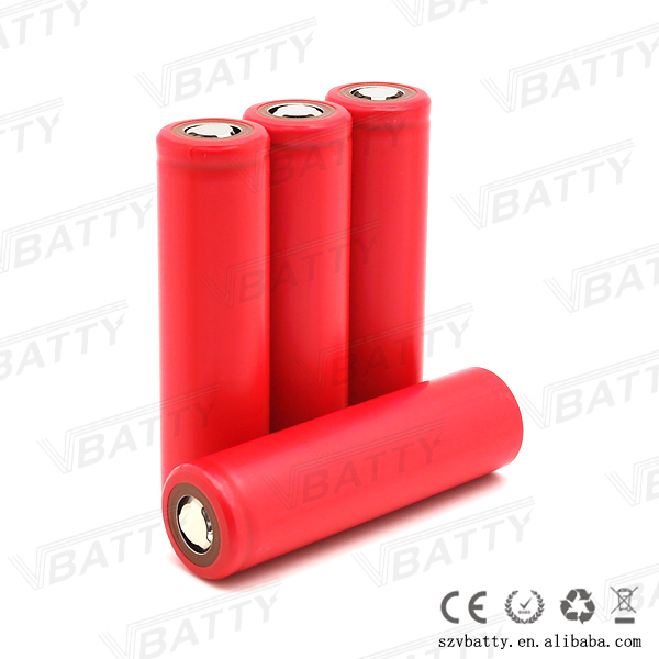 18650 Li ion Cell Sanyo NCR18650BF 3.7v 3400mAh long lasting battery for laptop